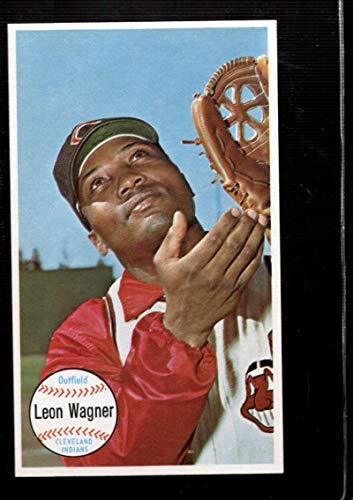 Leon Wagner Los Angeles Angels 1961 Style Custom Baseball Art Card