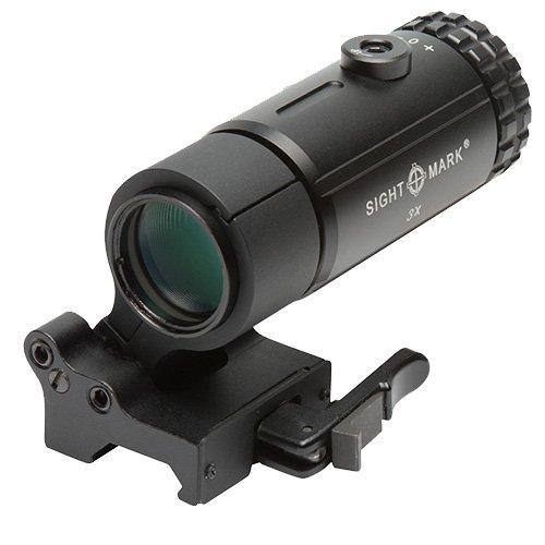 Sightmark SM19063 Magnifier with Lqd Flip to Side Mount, T-3, Black