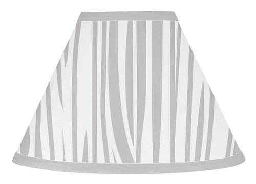 Sweet Jojo Designs Lamp Shade for Blue Grey and White Woodla