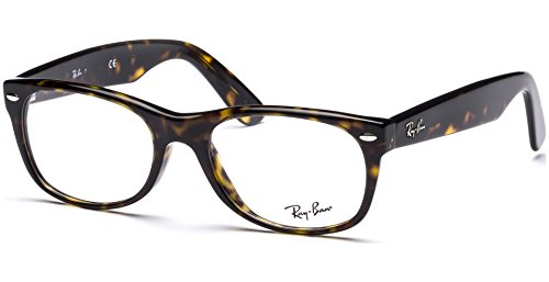 Ray-Ban RX5184 New Wayfarer Unisex Eyeglasses (Dark Havana Frame 2012, - Ban Sale For Wayfarers Ray
