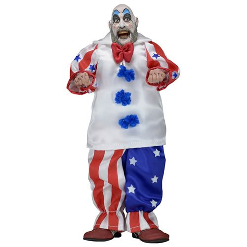 """House Of 1000 Corpses Figures - 8"""" Clothed Retro Action Captain Spaulding Figure"""