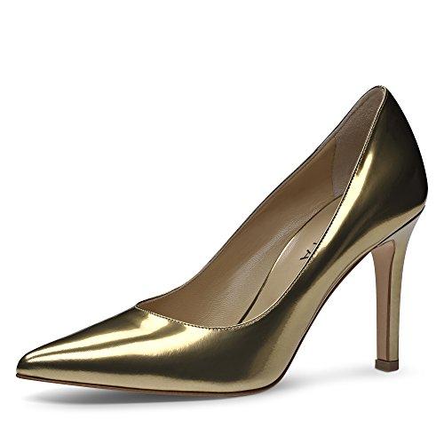 Couleur Ilaria Shoes Or Brush Evita Femme Escarpins Cuir pfnqq8Y