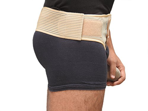 Wonder Care- Inguinal Hernia Support Truss for Single Inguinal or Sports Hernia with one Removable Compression Pads & Adjustable Groin Straps Surgery & injury Recover A-103 Right-S by Wonder Care (Image #6)