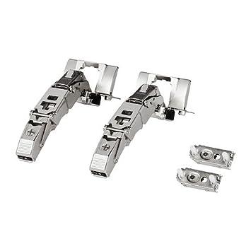 Ikea UTRUSTA - Hinge / 2 pack / 2 pack - 153 Ã'°: Amazon co uk