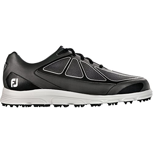 Footjoy New Men's Superlites CT 58003 Golf Shoe Black 9 M (Footjoy Golf Shoes Spikeless)