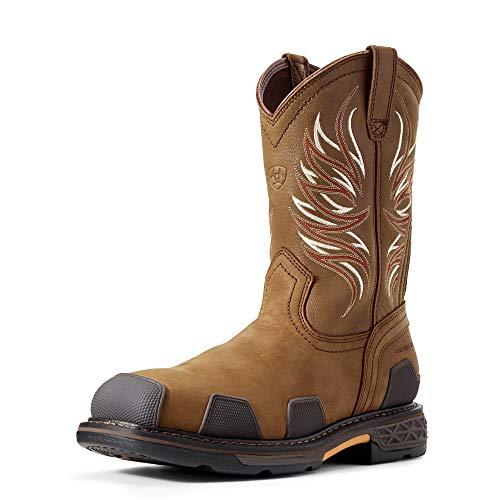ARIAT Men's Overdrive Composite Toe Work Boot Alamo Brown Size 13 D/Medium Us