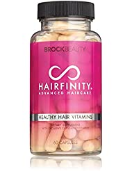 Brock Beauty Hairfinity Healthy Hair Vitamins 60 Capsules...