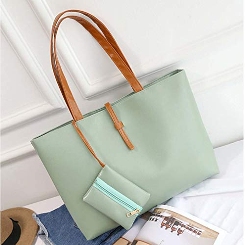 Roomy Space Casual Belt Large Bag Shoulder Bag Buckle Green Qirui q4gdnXX