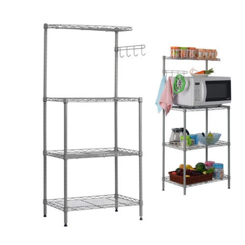 3-Tier Bakers Rack - Cherry Hill Wine Cabinet