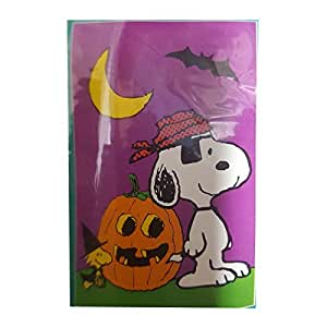 "Peanuts Snoopy Halloween Decorative House Flag Indoor/Outdoor 28"" x 40"""