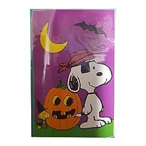 "Peanuts Snoopy Halloween Decorative House Flag Indoor/Outdoor 28"" x 40"""