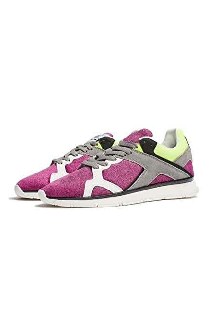 256c9ab4a79d SIK SILK Men s Zonal Runner Purple Trainers  Amazon.co.uk  Shoes   Bags
