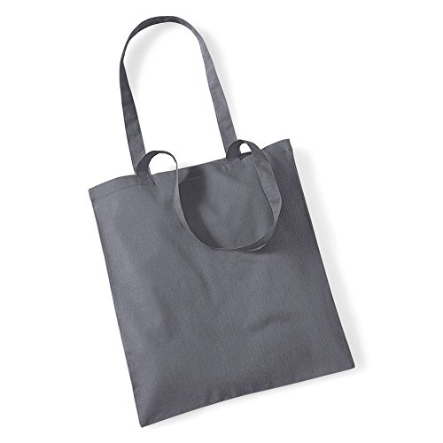 Westford Mill Shopping Bag For Life. - Graphite Grey