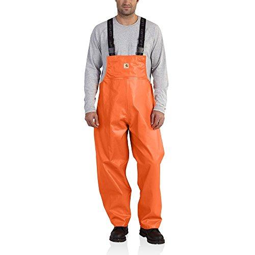 Carhartt Men's 101982 Belfast Bib Overall - Medium Regular - Orange