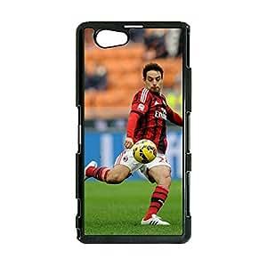 New Arrival Design Associazione Calcio Milan Mobile Case Giacomo Bonaventura Printing Plastic Mobile Cover for Sony Xperia Z1 Compact
