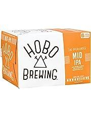 HOBO Brewing Mid-IPA, Mid-IPA, 375 ml (Pack of 6)