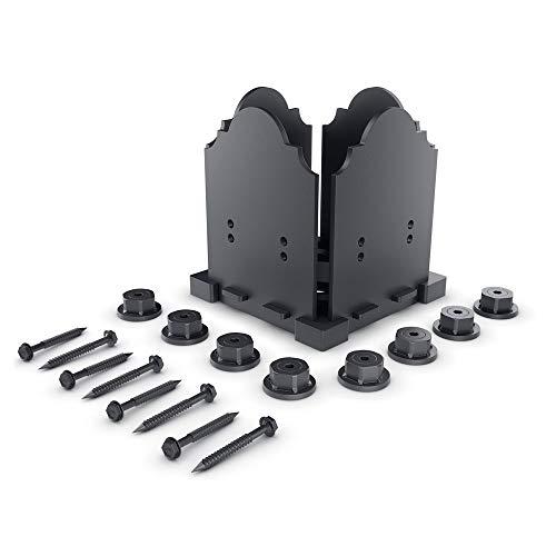 6 Inch Base Plate - OZCO 56608 Laredo Sunset 6x6 Post Base Kit, (1 per Pack)