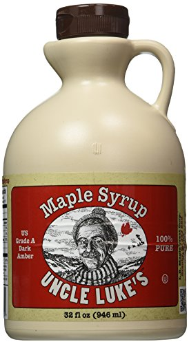 Uncle Luke's Pure Maple Syrup, 32 Ounce