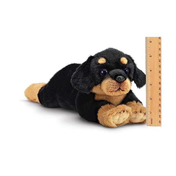 Bearington Gunner Rottweiler Plush Stuffed Animal Puppy Dog, 15 inches 3