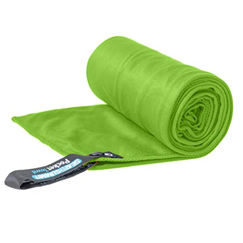 (Sea to Summit Pocket Towel, Lime, Large)