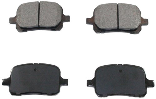 DuraGo BP707 MS Front Semi-Metallic Brake Pad