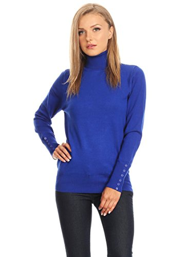 Royal Blue Long Sleeve Pullover - 8
