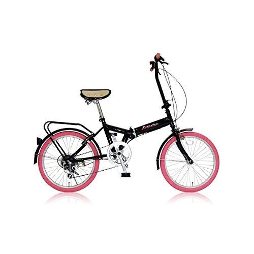 折りたたみ自転車 20インチ/ピンク シマノ6段変速 【MIWA】 ミワ FD1B-206【代引不可】 生活用品 インテリア 雑貨 自転車(シティーサイクル) 折り畳み自転車 [並行輸入品]   B01EOAR3J2