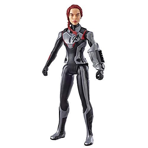 Avengers Marvel Endgame Titan Hero Series Black Widow 12-Inch-Scale Super Hero Action Figure Toy with Titan Hero Power FX Port