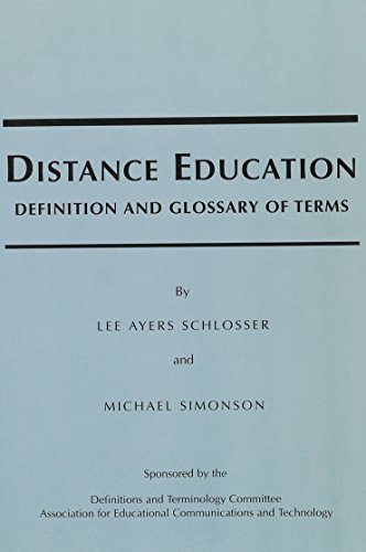 distance education definition and glossary of Distance education definition and glossary of terms distance education: definitions and glossary of terms , distance education is defined as institution based formal.