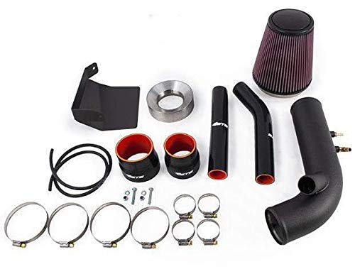 ETS Black Stainless Steel Air Intake System w/ 5