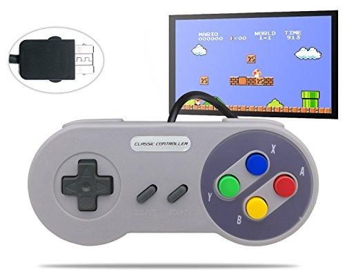 ntroller for Nintendo Super NES Classic Edition SNES NES Classic Mini (Snes Classic Controller)