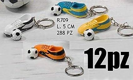 Subito Disponibile 12 Pezzi Llavero Zapatillas Fútbol con ...