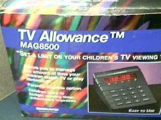 Philips Service Company Magnavox TV Allowance Model #MAG8500