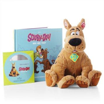 Price comparison product image Hallmark Interactive Plush PSB2118 Scooby-Doo Interactive Plush / Book / DVD