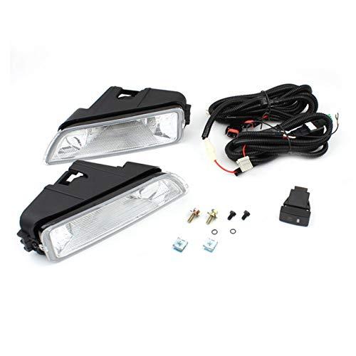 (LasVogos 1 Pair Professional Car Fog Light 2003-2007 for Honda Accord 4DR Sedan)