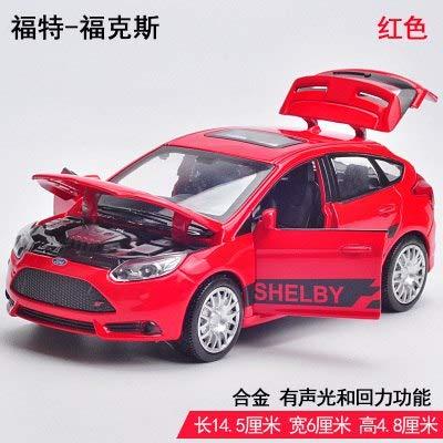 Amazon Com 1pc 14 5cm Delicate Ford Focus St Cars Simulation