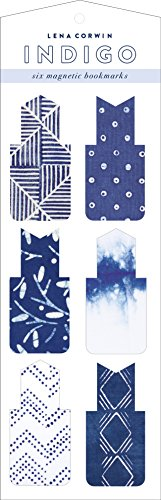 (Indigo Magnetic Bookmarks)
