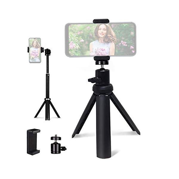 Lightweight Mini Tripod for CameraPhoneWebcam NexiGo Extendable Tripod Stand Compatible with Nexigo