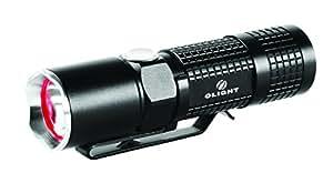Olight M10 Maverick - Linterna (Mano, Negro, Aluminio, LED, 350 lm, 107m)