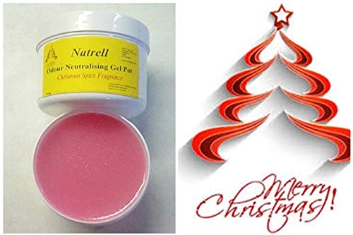 Odour Neutraliser Gel,Block,Christmas Spice Aroma,Yuletide, Xmas, Car, Caravan. Microsan Ltd
