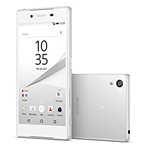sony z5 compact. sony xperia z5 compact e5823 2gb/32gb 23mp 4.6-inch 4g lte factory unlocked (white) - international stock no warranty d
