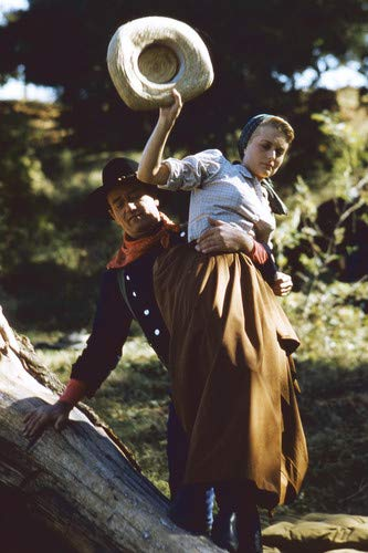 John Wayne and Constance Towers in The Horse Soldiers 11x17 Mini Poster