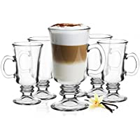 6 de irlandés de café vasos con asa