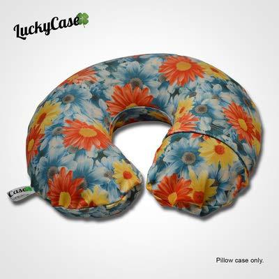 - LuckyCase Pillowcase Flower Power for Travel Neck Pillow