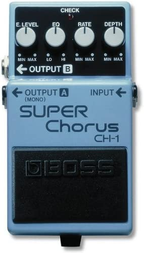 BOSS CH-1 Super Chorus - Pedal guitarra: Amazon.es: Instrumentos ...