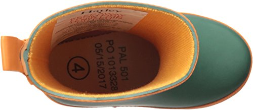 Hatley Kids' Classic Boots Rain Accessory, Green and Orange, 5 M US Toddler by Hatley (Image #1)