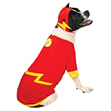 DC Comics Pet Costume, Medium, Flash