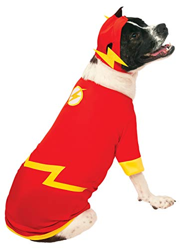 DC Comics Pet Costume, Large, Flash -