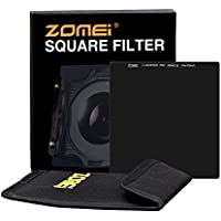 Zomei Ultra Slim HD 18 Layer Super Multi-Coated SCHOTT Glass PRO 10-stop ND3.0 Neutral Density Gray ND1000 Lens Filter - 100mm x 100mm Square Z-PRO Series Filter