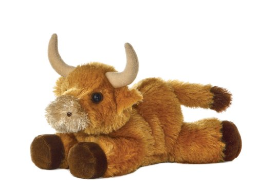 Aurora World 8-inch Mini Flopsie Toro Bull
